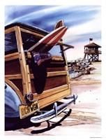 Beach Wagon Fine Art Print