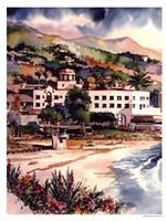 Hotel Laguna Fine Art Print