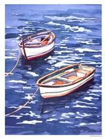 Vernazza Boats Fine Art Print