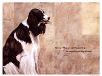 Pretty Good Dog Fine Art Print