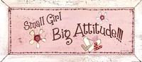 Big Attitude Fine Art Print