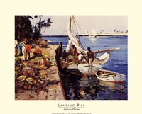 Landing Pier Fine Art Print