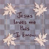 Jesus Loves Me Fine Art Print