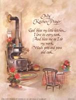 My Kitchen Prayer Fine Art Print