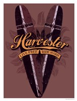Harvester Logo Framed Print