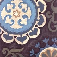 Suzani Florals II Fine Art Print