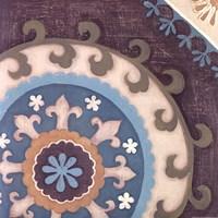 Suzani Florals III Fine Art Print