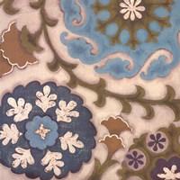 Suzani Florals IV Fine Art Print