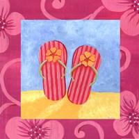 Flip Flops Fine Art Print