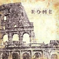 Rome - square Framed Print
