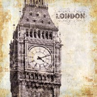 London - square Fine Art Print