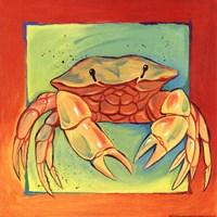 Crab Framed Print