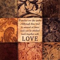 Family Quilt Fine Art Print