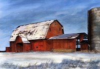 The Heartland Sleeping Fine Art Print