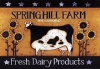 Springhill Farm Fine Art Print