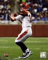 Andy Dalton 2011 Action Fine Art Print