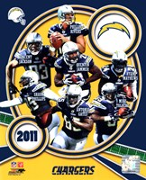San Diego Chargers 2011 Team Composite Fine Art Print