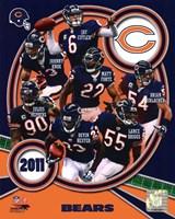 Chicago Bears 2011 Team Composite Fine Art Print