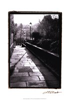 Parisian Walkway I Framed Print