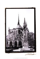 Notre Dame Cathedral III Framed Print