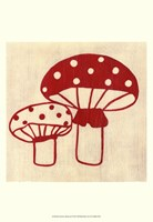 Best Friends- Mushrooms Fine Art Print