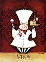 Chef Vino Fine Art Print