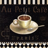 Cafe Parisien II Fine Art Print