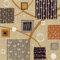 Graphic Tiles II Framed Print