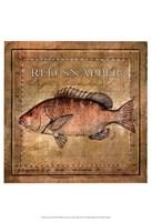 Ocean Fish VII Framed Print