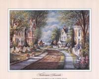 Victorian Seaside Fine Art Print