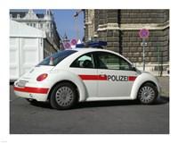 VW Police Beetle Fine Art Print