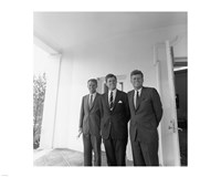 JFK-Robert-Edward Fine Art Print