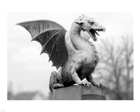 Dragon Statue Fine Art Print