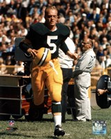 Paul Hornung - Action Fine Art Print