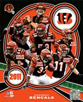 Cincinnati Bengals 2011 Team Composite Framed Print