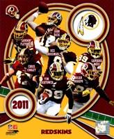 Washington Redskins 2011 Team Composite Fine Art Print