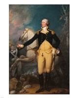 General George Washington at Trenton by John Trumbull Fine Art Print