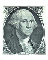 George Washington Dollar Fine Art Print