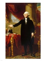 Gilbert Stuart, George Washington Lansdowne Portrait, 1796 Fine Art Print