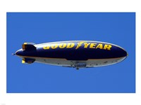 Goodyear Blimp Framed Print