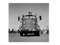 Fire Engine Framed Print