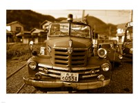 Isuzu Fire Engine Fine Art Print