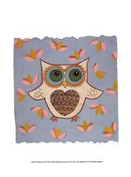 Whimsy Owl Framed Print