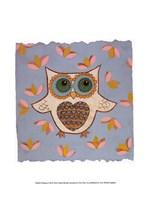 Whimsy Owl Fine Art Print