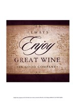 Wine Inspiration III Framed Print