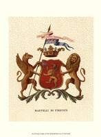 Stately Heraldry I Fine Art Print