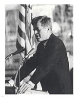 JFK Visit Fine Art Print
