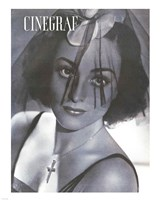 Joan Crawford CINEGRAF Magazine Framed Print