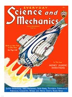 Science and Mechanics Nov 1931 Cover Fine Art Print