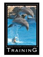 Training Affirmation Poster, USAF Fine Art Print